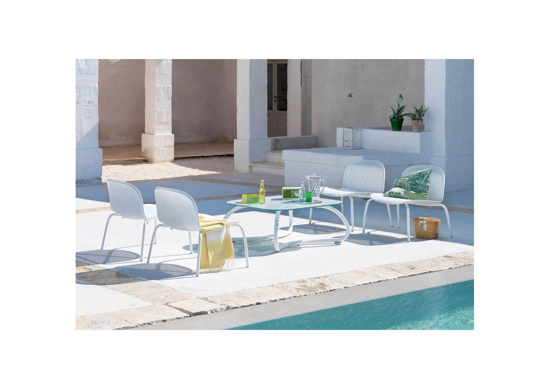 Meble ogrodowe Nardi: stół LOTO RELAX 95 + fotele NINFEA RELAX