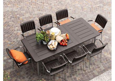 Meble ogrodowe Nardi stół MAESTRALE fotele MUSA