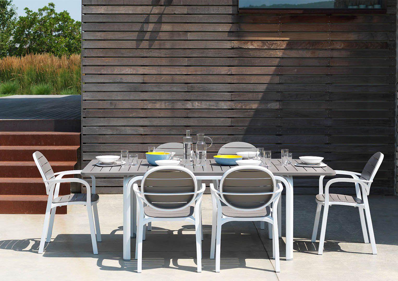 Meble ogrodowe Nardi stół ALLORO i fotele PALMA