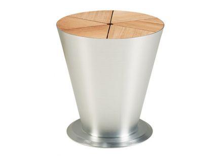Stolik ogrodowy HIGOLD ICOO srebrny