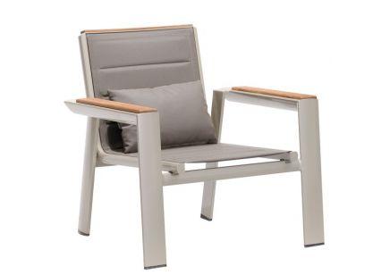 Fotel ogrodowy z aluminium Geneva