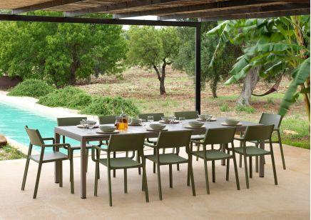 zestaw mebli ogrodowych Nardi TRILL i stół RIO