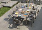 Zestaw mebli ogrodowych Nardi stół Alloro fotele Palma