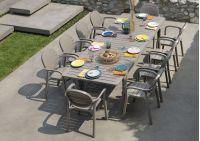 Zestaw mebli ogrodowych Nardi stół Alloro - fotele Palma